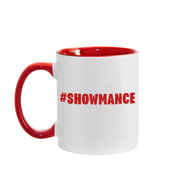 Big Brother Hashtag Personalized Red Two-Tone 11 oz Mug | Official CBS Entertainment Store