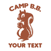 Big Brother Camp B.B. Personalized Raglan Baseball T-Shirt | Official CBS Entertainment Store