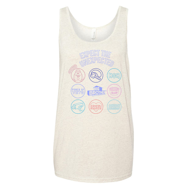 Big Brother Logo Mash Up Unisex Tank Top | Official CBS Entertainment Store