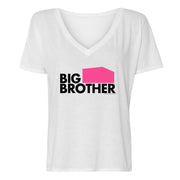 Big Brother 21 Logo Women's Relaxed V-Neck T-Shirt | Official CBS Entertainment Store