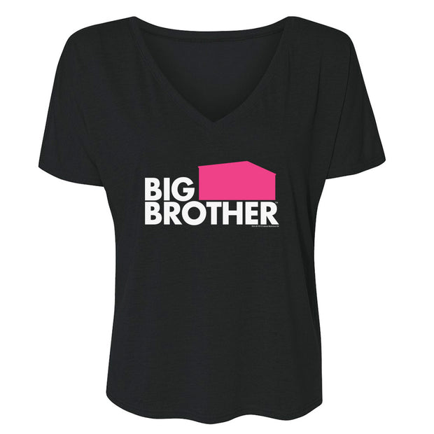 Big Brother Season 21 Logo Women's Relaxed V-Neck T-Shirt