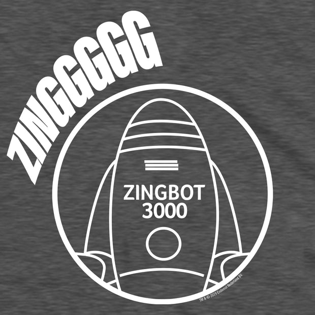 Big Brother Zingbot Adult Short Sleeve T-Shirt | Official CBS Entertainment Store