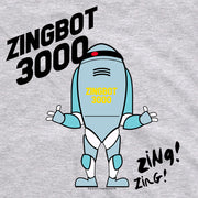 Big Brother Zingbot 3000 Adult Short Sleeve T-Shirt