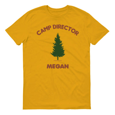 Big Brother Camp Director Personalized Adult Short Sleeve T-Shirt | Official CBS Entertainment Store
