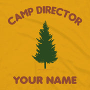Big Brother Camp Director Personalized Adult Short Sleeve T-Shirt
