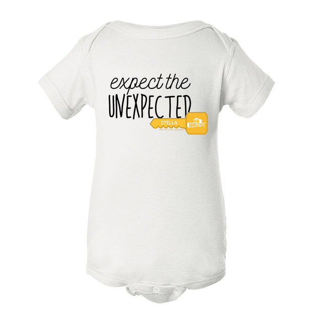 Big Brother Expect the Unexpected Personalized Baby Bodysuit | Official CBS Entertainment Store