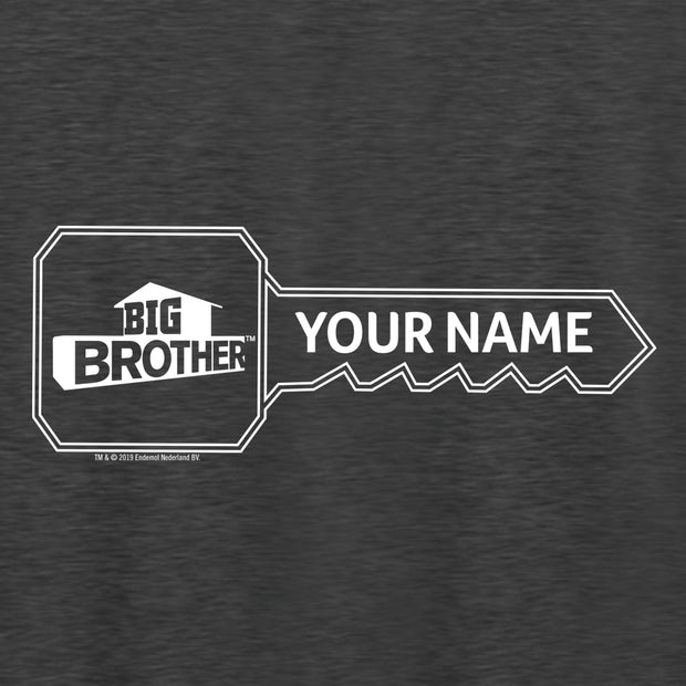 Big Brother Key Personalized Tri-Blend Raglan Hoodie