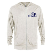 Big Brother Logo Tri-Blend Zip-Up Hooded Sweatshirt