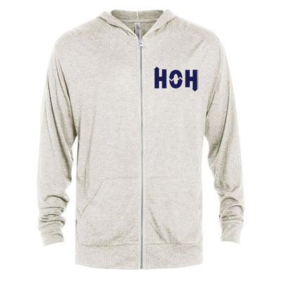 Big Brother HOH Tri-Blend Zip-Up Hooded Sweatshirt