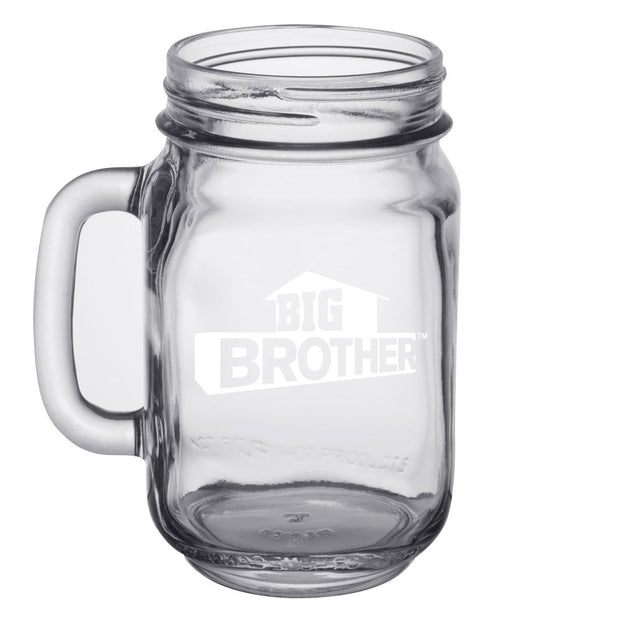 Big Brother Property of Personalized Mason Jar | Official CBS Entertainment Store
