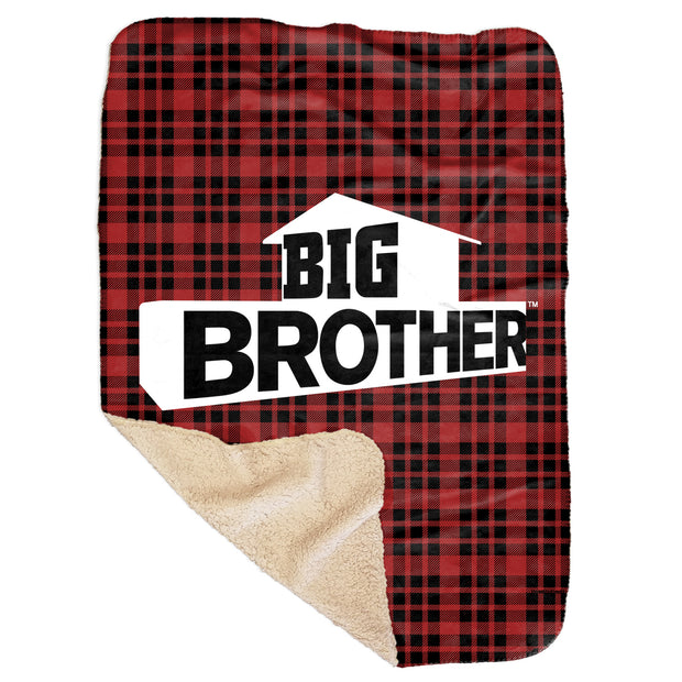 Big Brother Logo Sherpa Blanket | Official CBS Entertainment Store