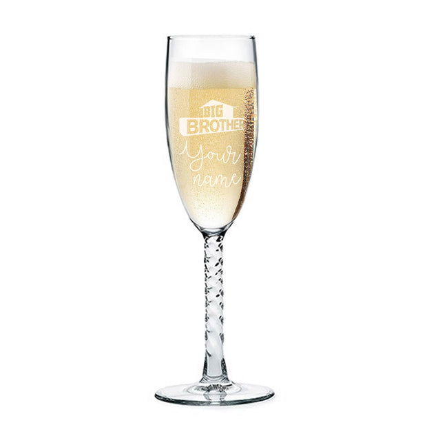 Big Brother Champagne Flute | Official CBS Entertainment Store