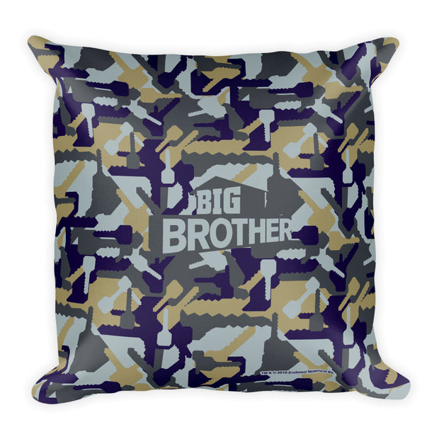 Big Brother Camo Hidden Key Pillow | Official CBS Entertainment Store