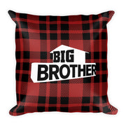 Big Brother Logo Plaid Pillow | Official CBS Entertainment Store
