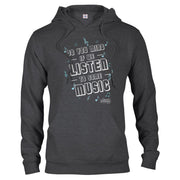 Carpool Karaoke Shall We Listen To Some Music Fleece Hooded Sweatshirt