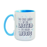 Carpool Karaoke Shall We Listen To Some Music 15 oz Two-Tone Mug | Official CBS Entertainment Store