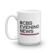 CBS News Evening News White Mug