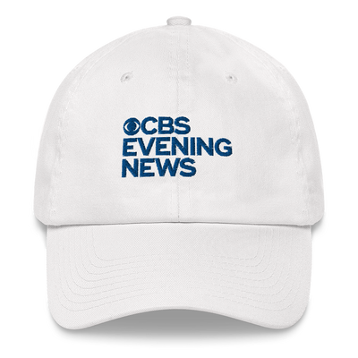 CBS News Evening News Logo Embroidered Hat