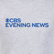 CBS News Evening News Logo Adult Short Sleeve T-Shirt