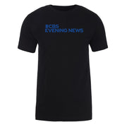CBS News Evening News Logo Adult Short Sleeve T-Shirt | Official CBS Entertainment Store