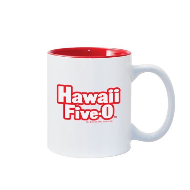 Hawaii Five-0 Retro Logo 11 oz Two-Toned Mug | Official CBS Entertainment Store