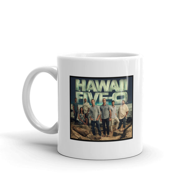 Hawaii Five-0 Cast 11 oz White Mug | Official CBS Entertainment Store