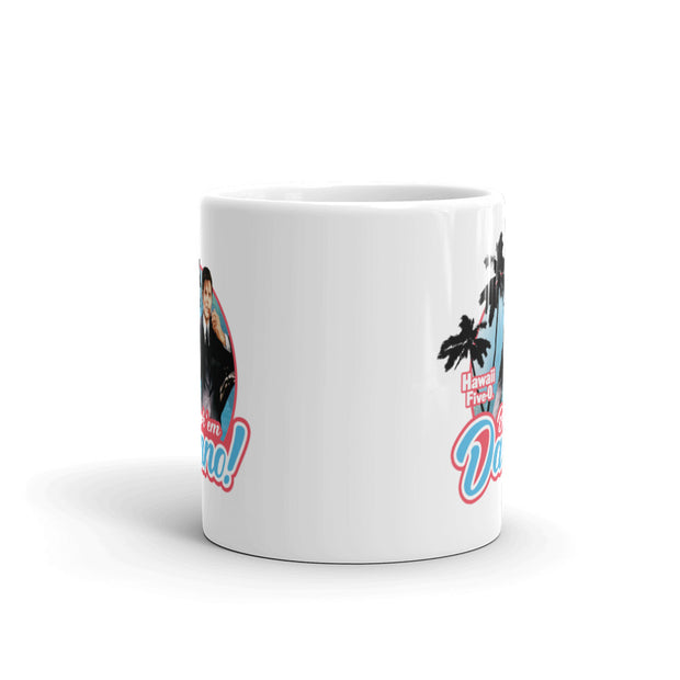 Hawaii Five-0 Book 'em Danno 11 oz White Mug | Official CBS Entertainment Store