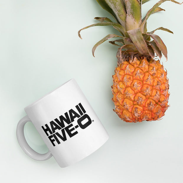 Hawaii Five-0 Logo 11 oz White Mug | Official CBS Entertainment Store