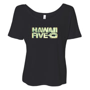Hawaii Five-0 3D Logo Women's Relaxed T-Shirt