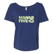 Hawaii Five-0 3D Logo Women's Relaxed T-Shirt | Official CBS Entertainment Store