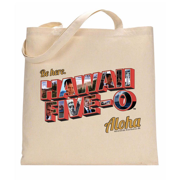 Hawaii Five-0 Aloha Canvas Tote Bag | Official CBS Entertainment Store