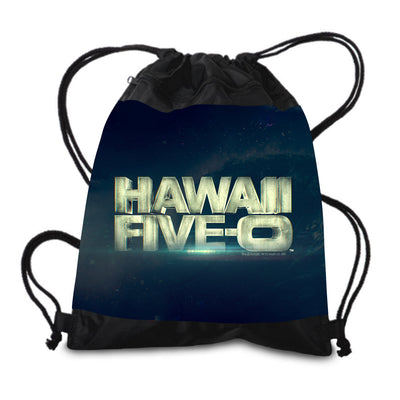 Hawaii Five-0 3D Logo Drawstring Bag | Official CBS Entertainment Store