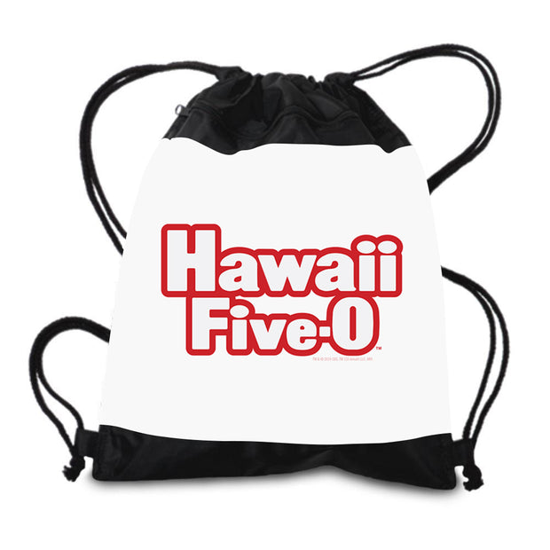 Hawaii Five-0 Retro Logo Drawstring Bag | Official CBS Entertainment Store