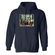 Hawaii Five-O Cast Fleece Hooded Sweatshirt