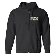 Hawaii Five-0 3D Logo Fleece Zip-Up Hooded Sweatshirt | Official CBS Entertainment Store