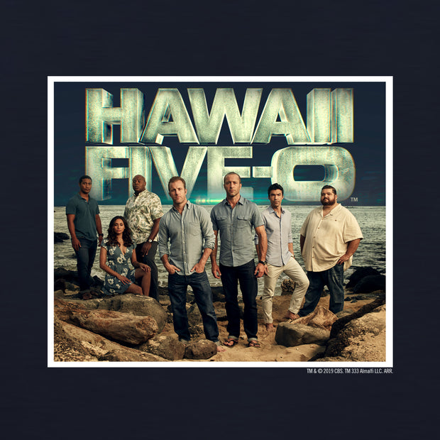 Hawaii Five-O Cast Adult Short Sleeve T-Shirt