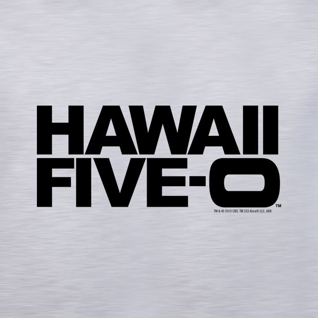 Hawaii Five-O Logo Adult Short Sleeve T-Shirt