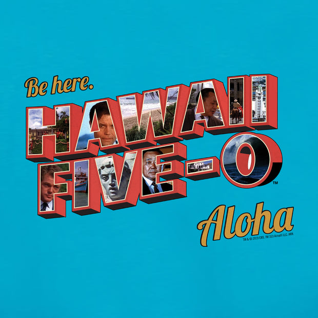 Hawaii Five-0 Aloha Men's Tri-Blend T-Shirt