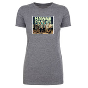 Hawaii Five-O Cast Women's Tri-Blend T-Shirt