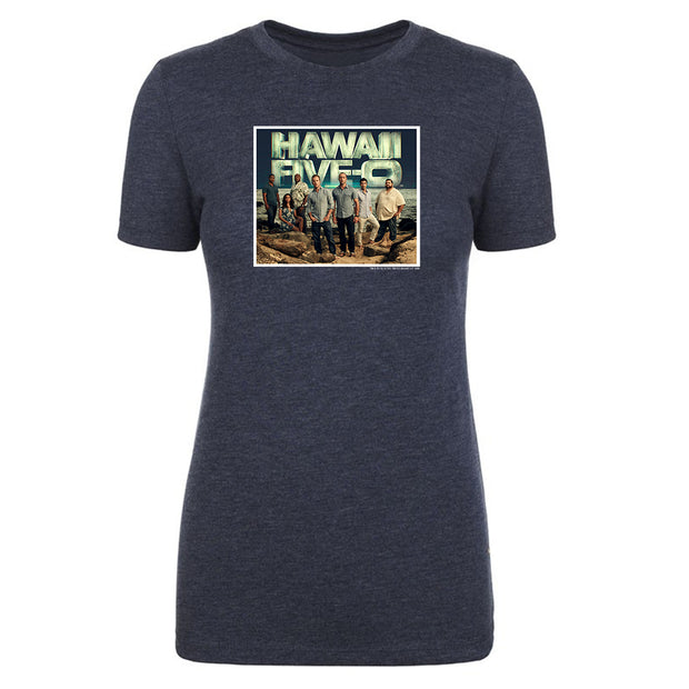 Hawaii Five-0 Cast Women's Tri-Blend T-Shirt | Official CBS Entertainment Store