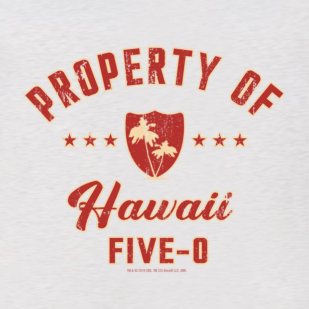 Hawaii Five-0 Property of Hawaii Women's Tri-Blend Dolman T-Shirt