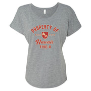 Hawaii Five-0 Property of Hawaii Women's Tri-Blend Dolman T-Shirt | Official CBS Entertainment Store