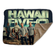 Hawaii Five-0 Cast Sherpa Blanket | Official CBS Entertainment Store