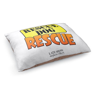 The Late Show with Stephen Colbert Rescue Dog Rescue Pet Bed | Official CBS Entertainment Store