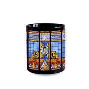 The Late Show with Stephen Colbert Cathedral Black 11 oz Mug | Official CBS Entertainment Store