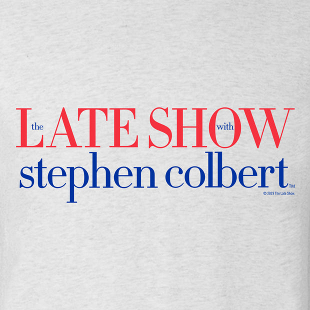 The Late Show with Stephen Colbert Men's Tri-Blend Short Sleeve T-Shirt