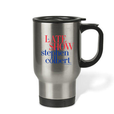 The Late Show with Stephen Colbert Stainless Steel Travel Mug