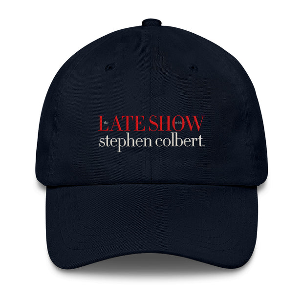 The Late Show with Stephen Colbert Embrodiered Hat