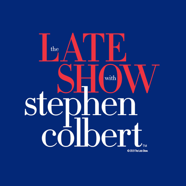 The Late Show with Stephen Colbert Sherpa Blanket