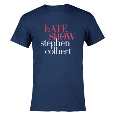 The Late Show with Stephen Colbert Men's Short Sleeve T-Shirt